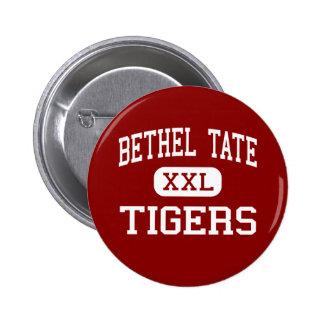 Bethel Tate - tigrar - högstadium - Bethel Ohio Standard Knapp Rund 5.7 Cm