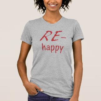 Beträffande-lycklig Tshirts