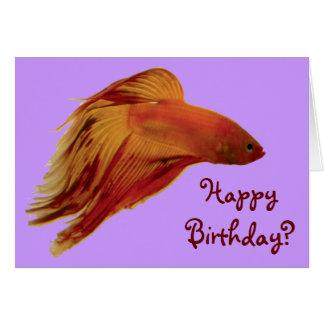 Betta - födelsedagkort hälsningskort