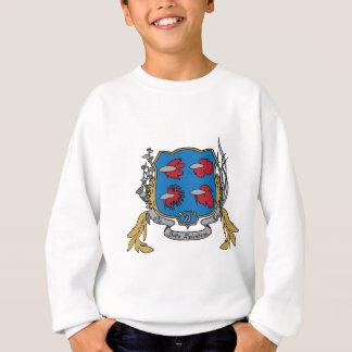 Betta Splendens vapensköld Tee Shirts