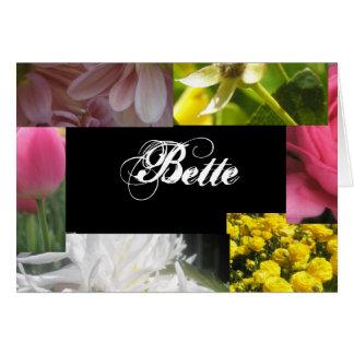 Bette Hälsningskort