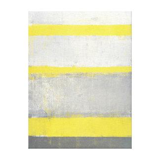 """""""Betvingad"""" abstrakt konst för grå färg och för Canvastryck"""