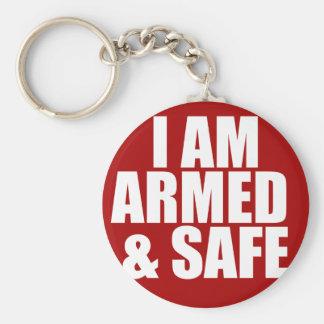 Beväpnad & säker nyckelring