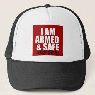 Beväpnad & säker truckerkeps