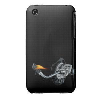 Beväpnar det mobila fodral DJ för björnbäret Case-Mate iPhone 3 Fodraler