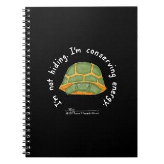 Bevara den svart anteckningsboken för energi anteckningsbok