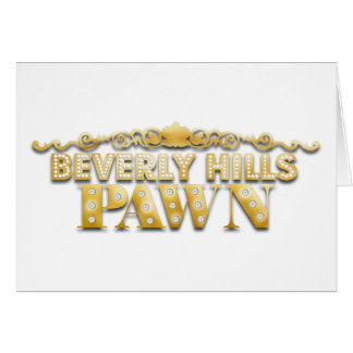 Beverly Hills pantsätter Hälsningskort