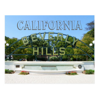 Beverly Hills vykort! Vykort
