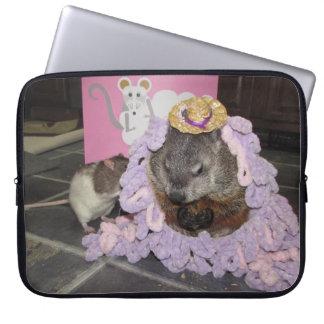 Bevin och Maude bärbar datorbeskyddande Laptop Fodral