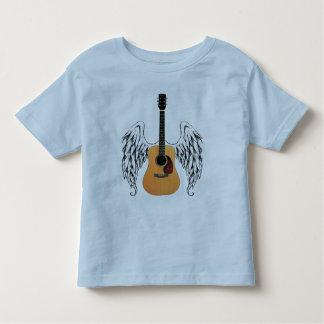 Bevingad akustisk gitarr tröja