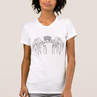 Bevingad ängel t-shirts