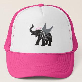 Bevingad elefanttruckerkeps truckerkeps