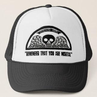 Bevingad hatt för baseball för dödskallekyrkogård keps