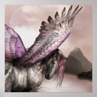 Bevingad Pegasus affisch