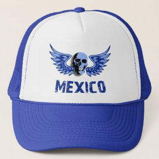 Bevingad skalle för Mexico blått Keps