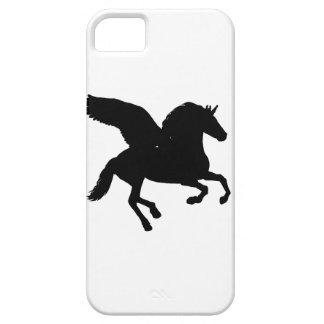 Bevingad UnicornSilhouette iPhone 5 Case-Mate Fodral