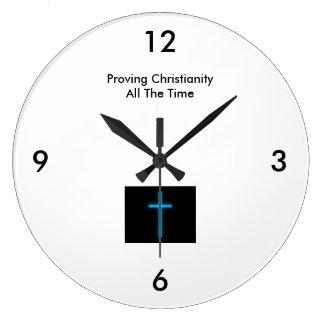Bevisa kristendomen - hela tiden (stort) ta tid på stor klocka