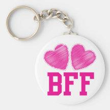 BFF-bästa vänför evigt!!! fantastisk! Nyckelringar