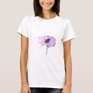 Bi på blommardamskjortan t-shirt