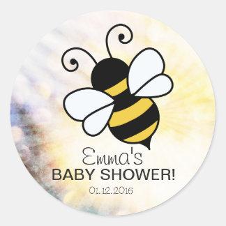 Bibaby shower tackar dig klistermärken