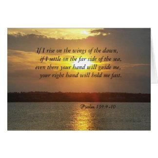 BibelPsalm139:9 - geeting kort 10