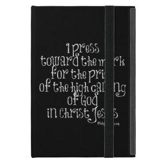BibelVerse för Philippians 3,14 iPad Mini Skal