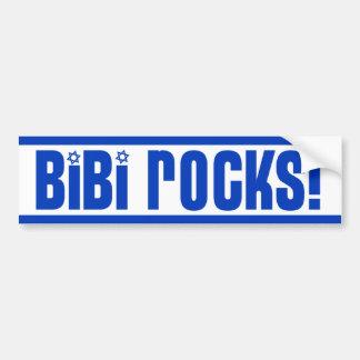 BiBi stenar - Pro Israel Bildekal