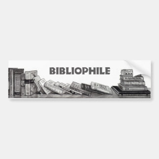 Bibliofil: Bokälskare: Bokmal: Rita konst Bildekal