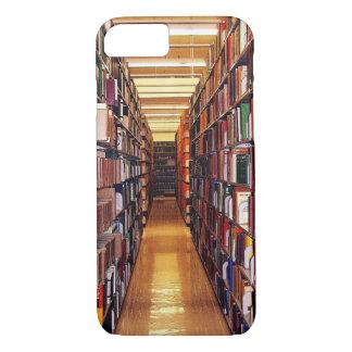 Bibliotek bokar fodral för iPhone 7