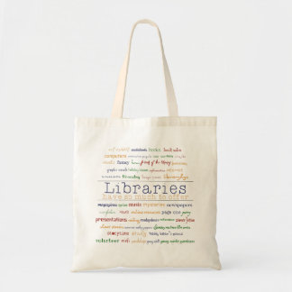 Bibliotek Budget Tygkasse
