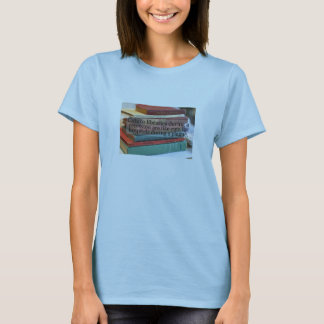 Bibliotek klipper exhibts en brist av logik tröja