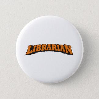 Bibliotekarie (orange) standard knapp rund 5.7 cm