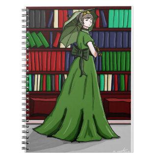 Bibliotekarien Anteckningsbok Med Spiral