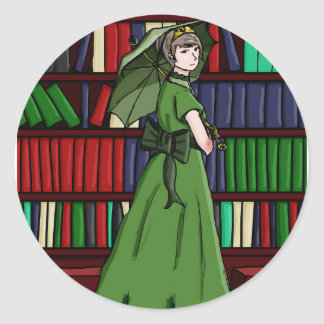 Bibliotekarien Runt Klistermärke