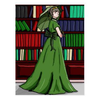 Bibliotekarien Vykort