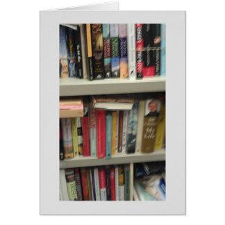 Bibliotekariepensionhälsningar Hälsningskort