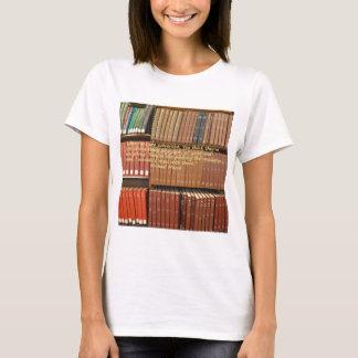 Bibliotekarier är det omstörtande citationstecknet t shirt