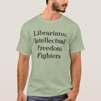 Bibliotekarier: Intellektuella frihetskämpar T Shirts