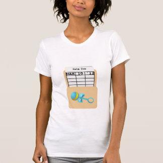 "Bibliotekbebiset ""DATERAR RAKT"" T-tröja Tee"