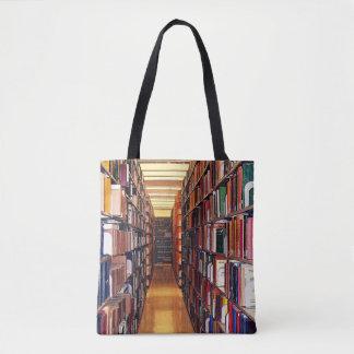 Bibliotekboken bordlägger toto hänger lös tygkasse