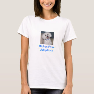 Bichon Frise adoptionT-tröja Tee