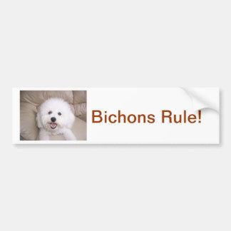 Bichon Frise Bildekal