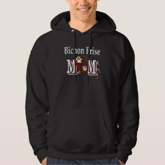 Bichon Frise mammagåvor Sweatshirt Med Luva