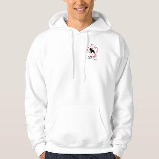 Bichon Frise måste älskas Sweatshirt Med Luva