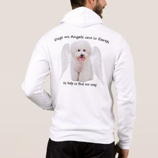 Bichons är änglarhoodien t shirts