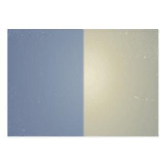 Bicolor mönster för Retro blåttkräm Set Av Breda Visitkort