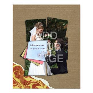 Biet av min förstoring för foto för hjärtabröllopa