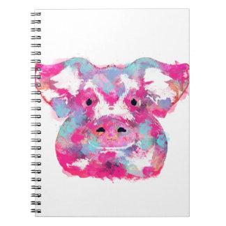 Big pink pig dirty ego