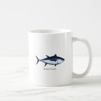 Bigeyetonfisklogotyp Kaffemugg