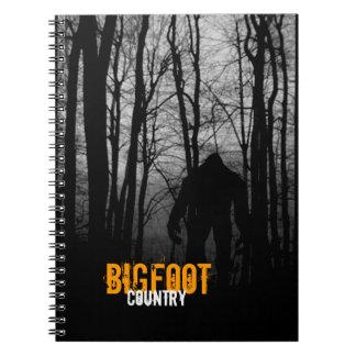 Bigfoot anteckningsbok